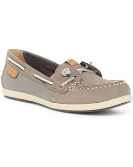 Coil Ivy Leather Boat Shoe