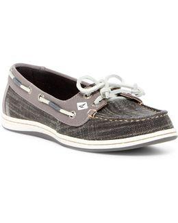 Firefish Linen Boat Shoe