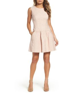 Ashlie Fit & Flare Dress