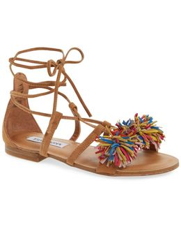 Swizzle Lace-up Sandal