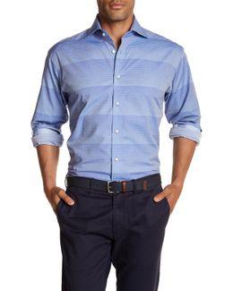 Gradient Stripe Classic Fit Shirt
