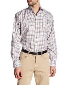 Windowpane Long Sleeve Shirt