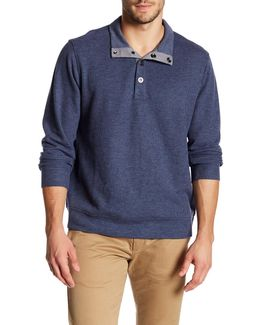 Cold Spring Snap Placket Pullover