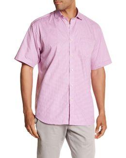 Woven Short Sleeve Regular Fit Shirt