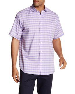 Gingham Short Sleeve Regular Fit Shirt