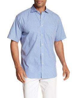 Michrocheck Short Sleeve Regular Fit Shirt