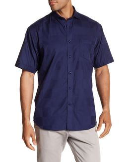 Checked Short Sleeve Regular Fit Shirt