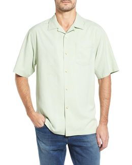 Java Dobby Original Fit Silk Camp Shirt