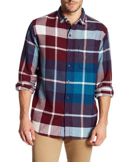 Acai Plaid Flannel Regular Fit Shirt