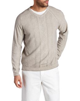 Riviera Sands V-neck Sweater