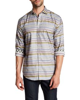 Printed Long Sleeve Regular Fit Shirt