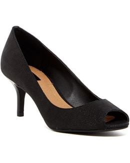 Janna Reptile-embossed Pump