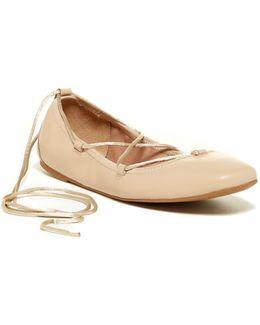 Zenn Ankle Lace Ballet Flat