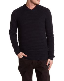 Gridlock Cable Knit Sweater