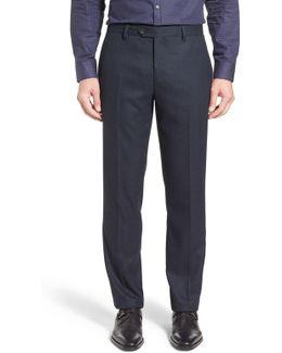 Cabtro Classic Fit Flat Front Trouser