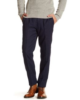Welltro Classic Fit Flat Front Trouser