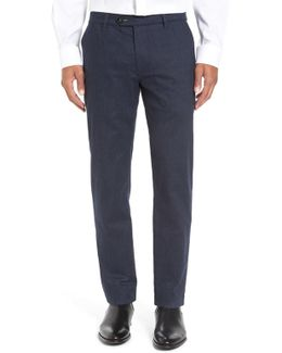 Classic Fit Flat Front Trouser