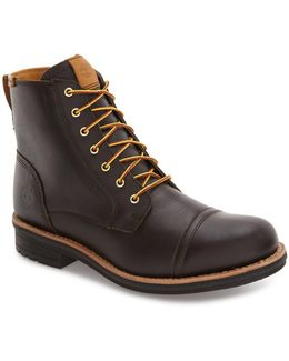 'willoughby' Cap Toe Boot