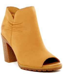Glancy Open Toe Bootie