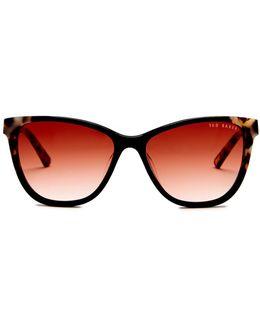 Women's Full Rim Cat Eye Sunglasses