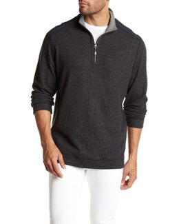Flip Out Reversible Funnel Neck Sweater