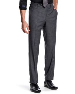 Jarret Grey Plaid Suit Separates Wool Trouser