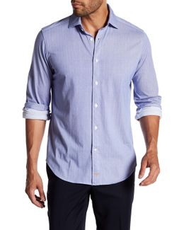 Herringbone Full Button Shirt