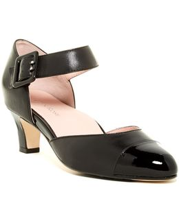 Toody Ankle Strap D'orsay Pump