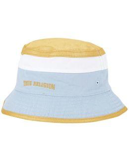 Reversible Colorblock Bucket Hat