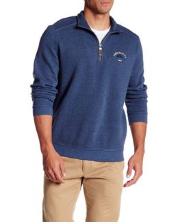 Aruba Partial Zip Pullover