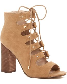 Traylia Lace-up Bootie