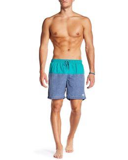 San O Colorblock Swim Trunk