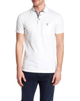 Spread Collar Polo