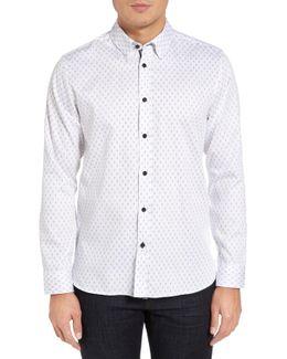 Hartbop Print Extra Slim Fit Sport Shirt