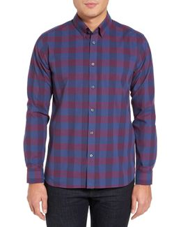 Ted Baker Extra Slim Fit Check Sport Shirt