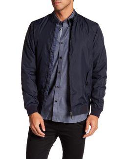 Zip Front Windbreaker Jacket