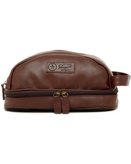 Faux Leather Travel Kit
