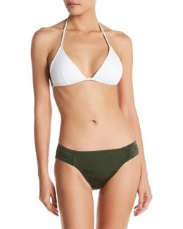 Solid Agave One-piece Swimsuit
