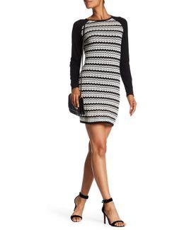 Zeal Pointelle Sweater Dress
