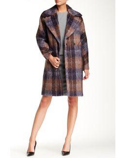 Scarlett Plaid Coat