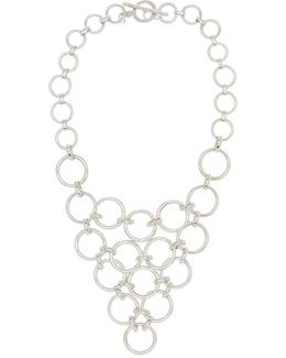 Round Chain Link Frontal Necklace