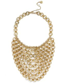 Chain Bib Necklace