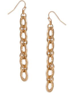 Linear Link Earrings