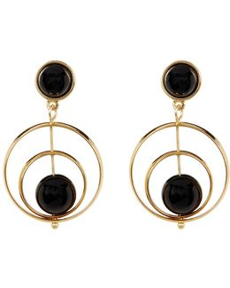 Double Drop Spinning Earrings