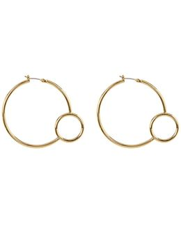 Double Bubble Hoop Earrings