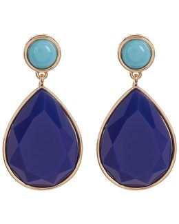 Double Drop Teardrop Earrings