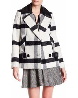 Addison Plaid Coat