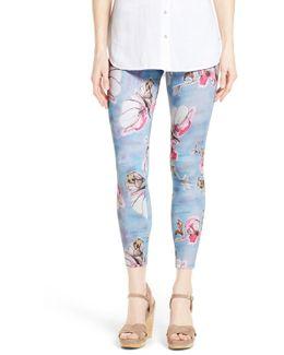 Super Smooth Floral Skimmer Legging