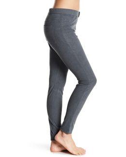 Microsuede Faux Suede Legging