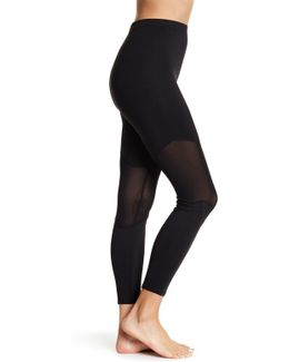 Mesh Knee Shaping Leggings